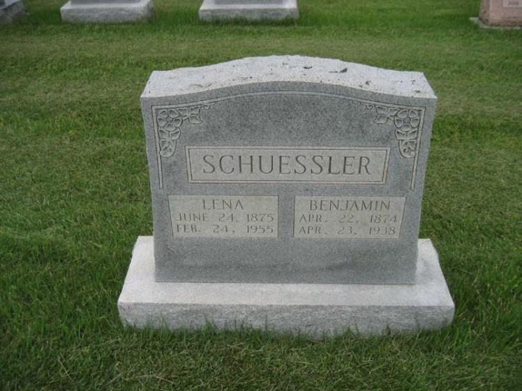 Benjamin Schuessler gravestone