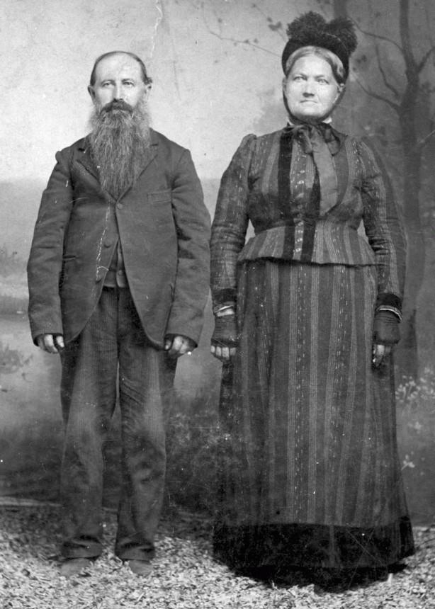 Friedrich Bernhard Mueller and Hannah Hornemann