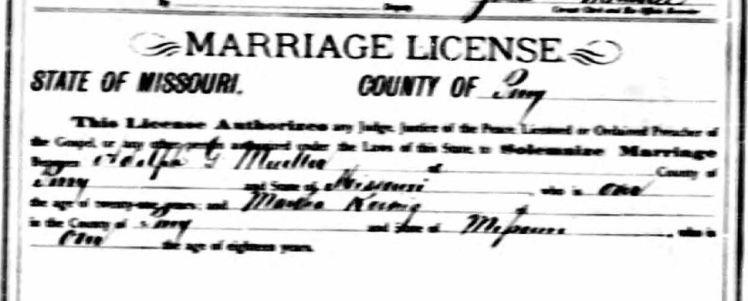 Gottfried Mueller Martha Koenig marriage