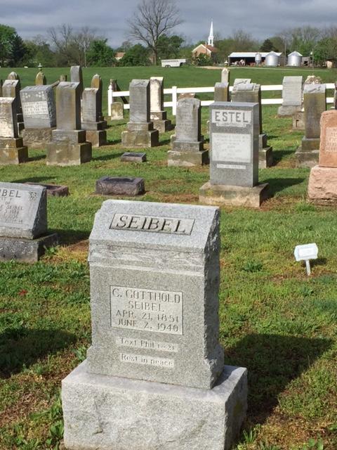Gotthold Seibel tombstone