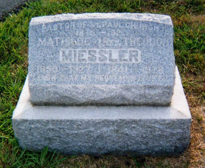 Theodore and Mathilda Miessler