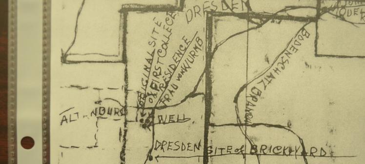 Altenburg area map