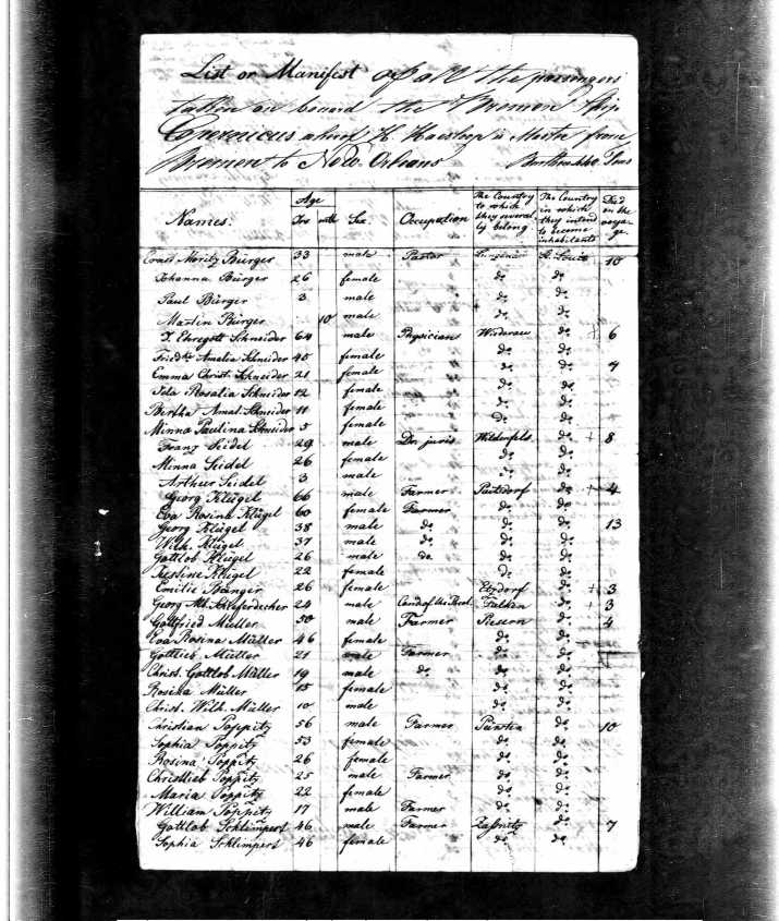 Copernicus Passenger List p1
