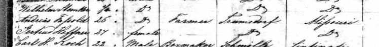 Fassold-Hafner passenger list