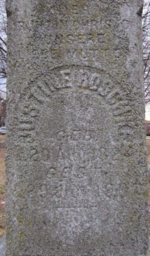 Justine Jahn Roschke tombstone