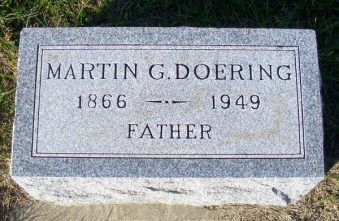 Martin Doering tombstone