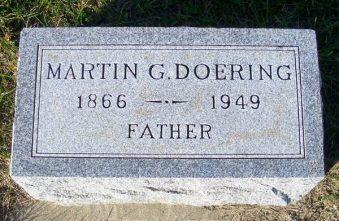 Martin Doering tombstone