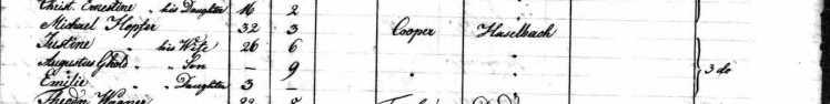 Michael Hopfer passenger list