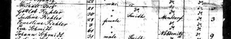 Fiehler passenger list Copernicus