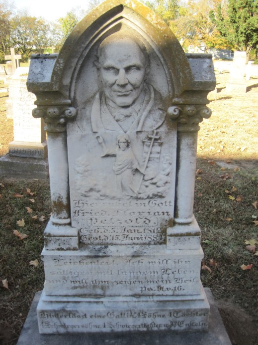 Friedrich Florian Petzoldt gravestone