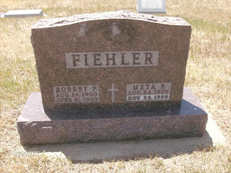 Robert Fiehler Potter NE grave