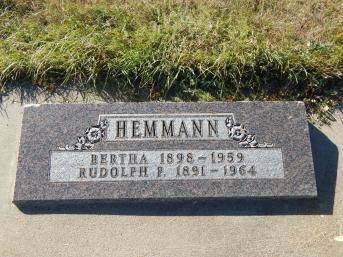 Rudolph Hemmann grave
