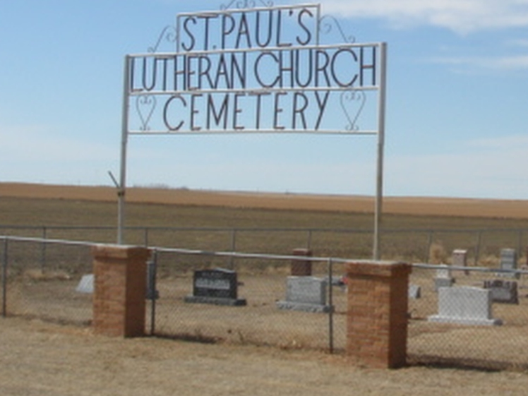 St. Paul Potter NE cemetery