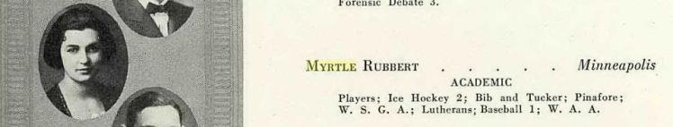 Myrtle Rubbert