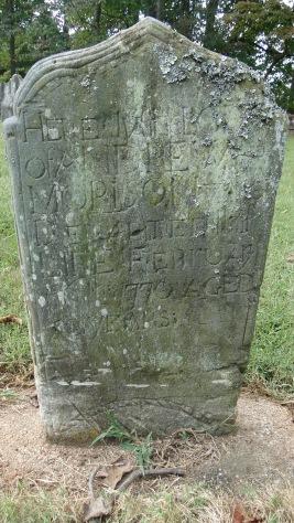 Andrew Morrison gravestone