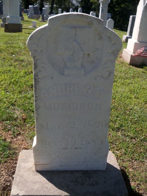 Andrew Ramsey Morrison gravestone