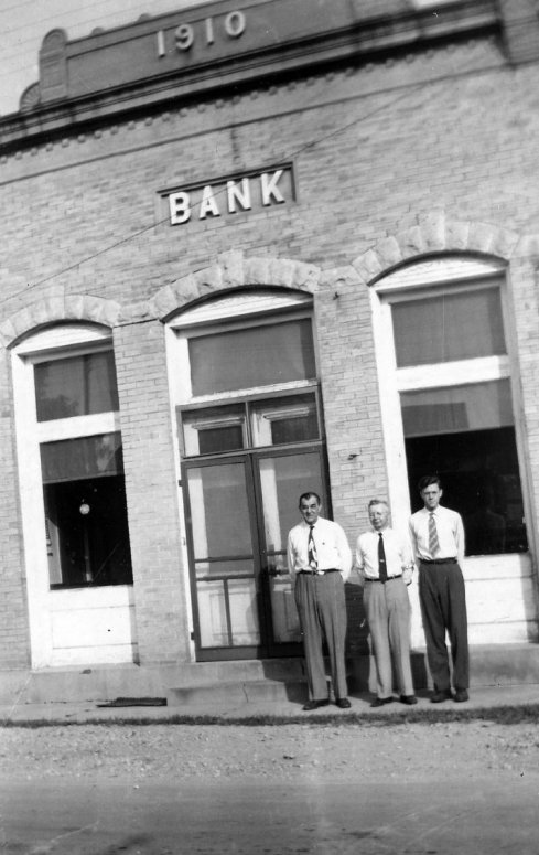 Bank officers 1940's