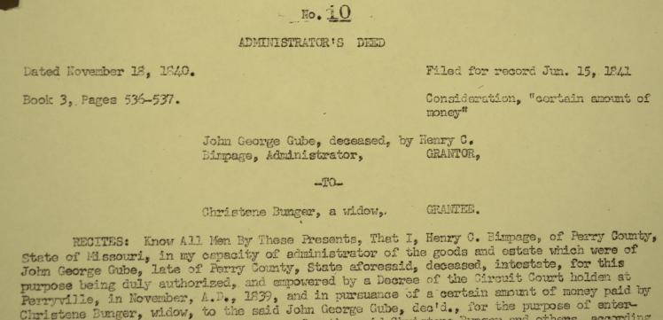 Gube Buenger document
