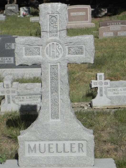 Mueller monument