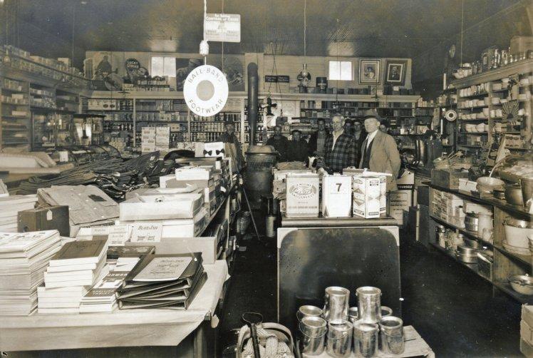 Mueller store indside 1930's X