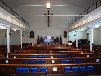 Thyatira Presbyterian interior