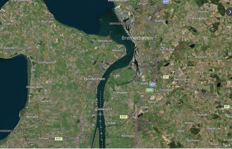 bremerhaven-map