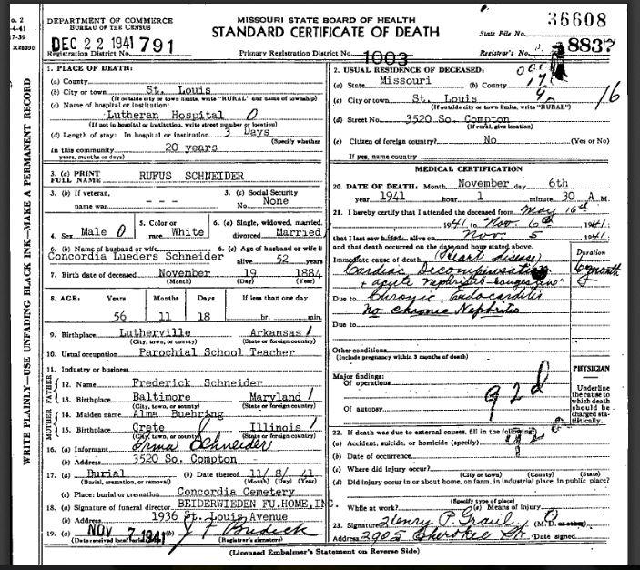 rufus-schneider-death-certificate