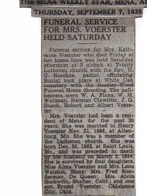 voerster-obituary