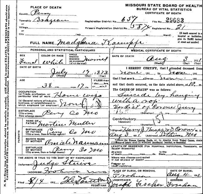 magdalena-kaempfe-death-certificate