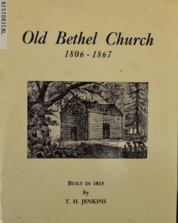 old-bethel-church-book