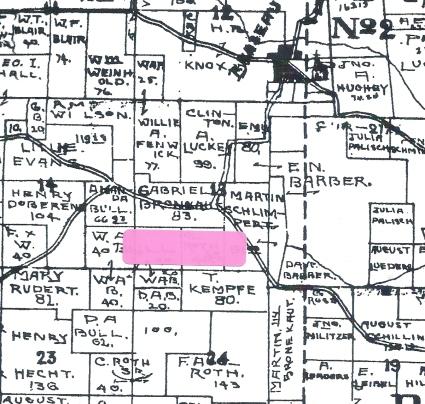 14 Bronenkant Land 1898