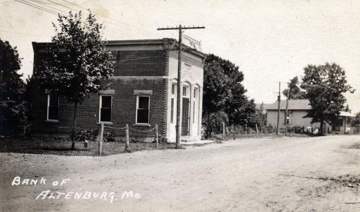 1910 bank Bock