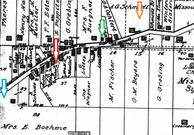 Altenburg map 1915 tornado path