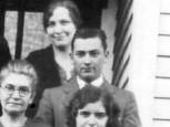 MRS BERTHA SCHMIDT WITH HER CHILDREN GEORGE AND CLARA LOEBS, LORNA, ARNOLD, RICHARD, HILDEGARD, HERBERT, RUDOLPH