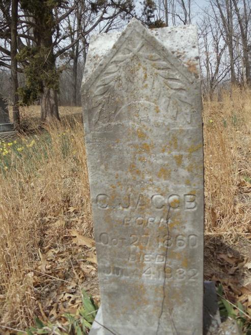 Charles Jacob gravestone