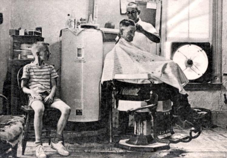 David Myers barber