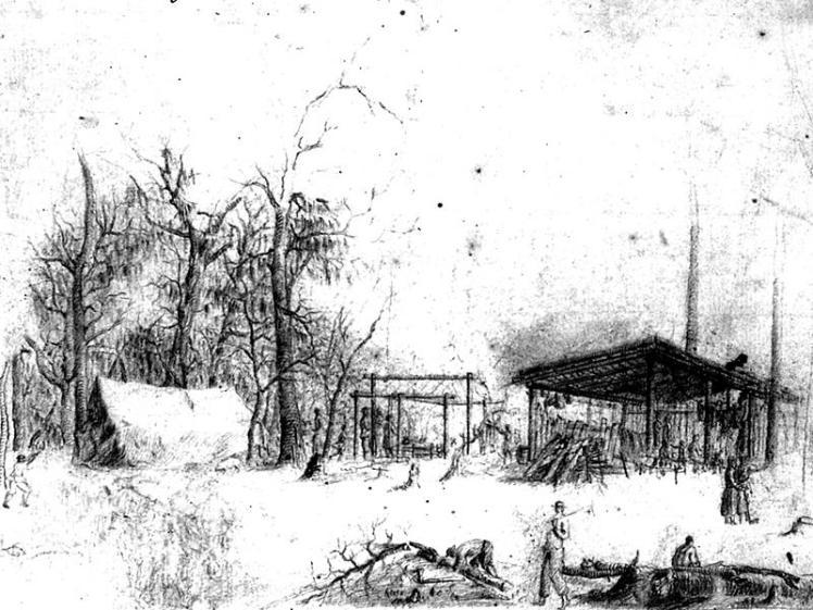 Early Ebenezer Georgia