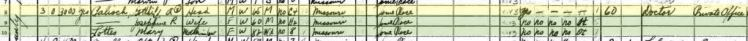 Gotthilf Palisch 1940 census