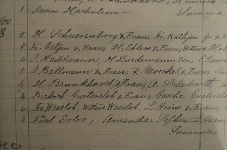 Guetersloh Jacob membership 1885
