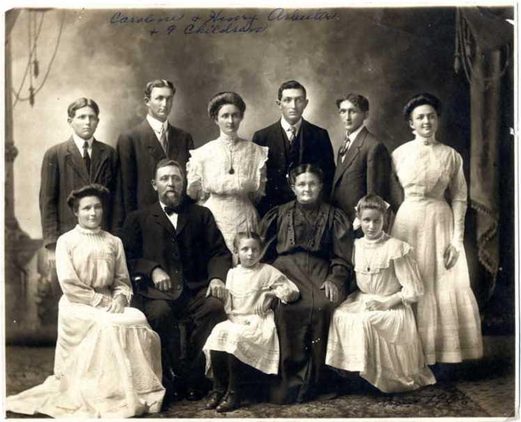 Henry Arbeiter family