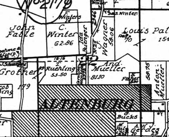 Ida Buenger land 1915