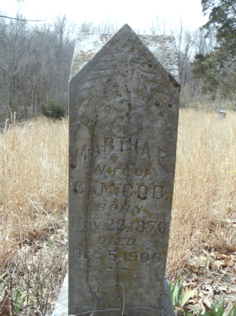 Martha Jacob gravestone