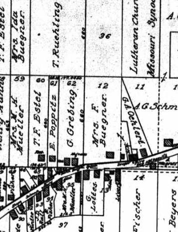 Mrs. Buenger land Altenburg 1915