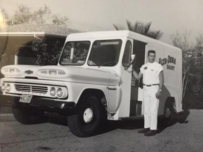 Robert Mueller Alta-Dena Dairy truck
