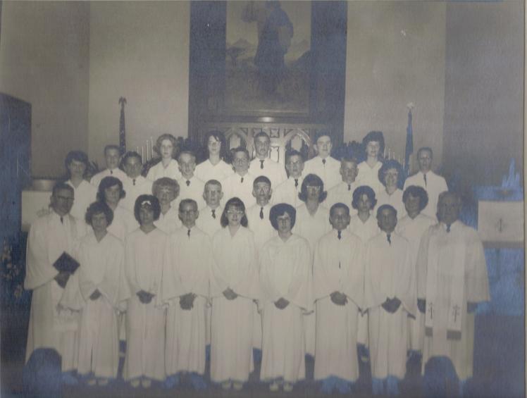 Confirmation Class 1964 St. Jacobi