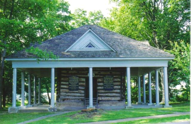 Current Photo of the Log Cabin College