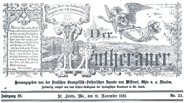 Der Lutheraner November 15, 18820001