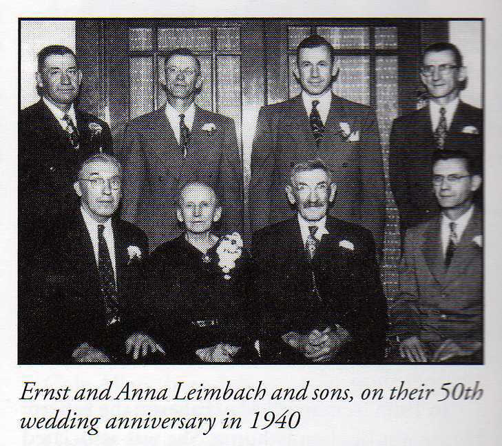 Ernst Leimbach family