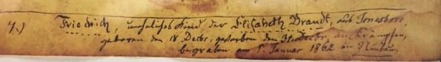 Friedrich Brandt death