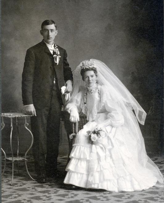 Henry Mueller wedding tif